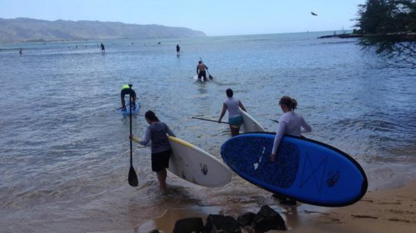 SUP Camp on Oahu's North Shore 4/30-5/5 2016
