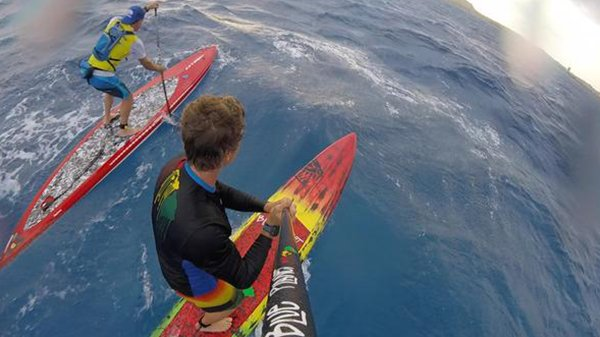 Nothing But Glides - Downwind Video Without a Single Paddle Stroke