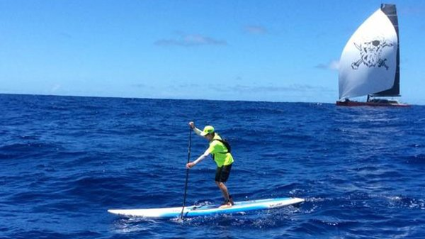 SUP Tips: Paddling in a Straight Line