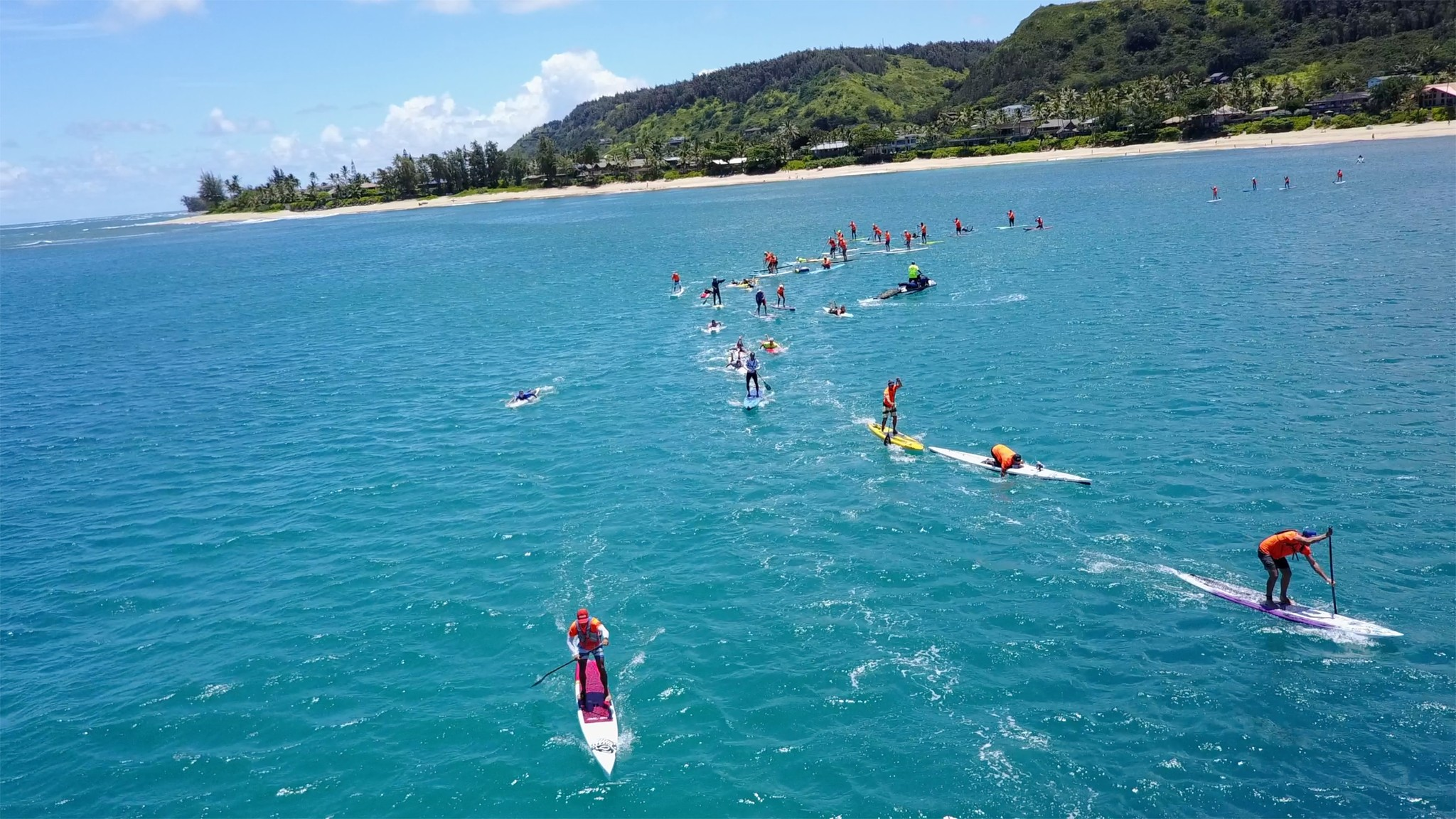 Blue Planet Wet Feet Hawaii Paddleboard race