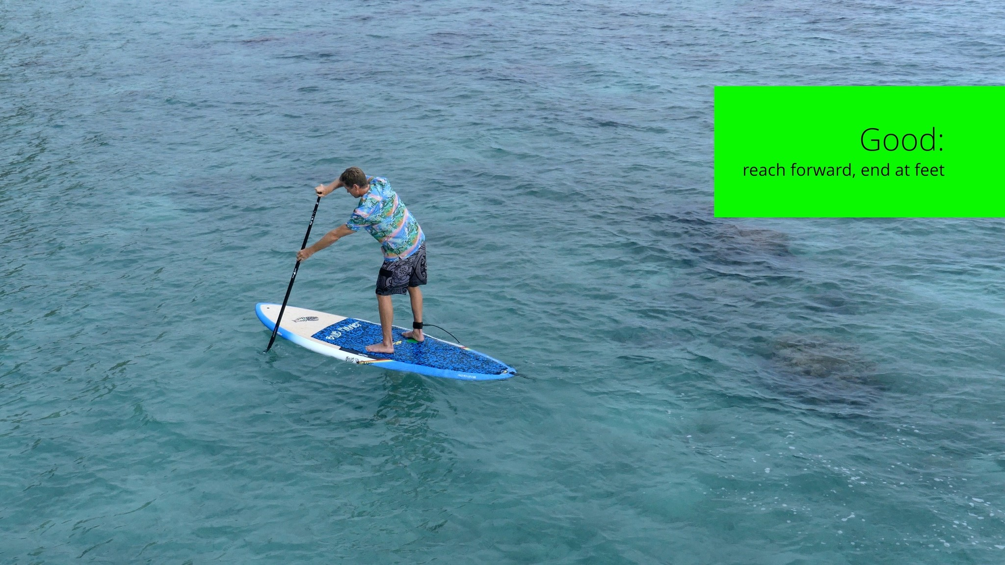 How to SUP forward stroke