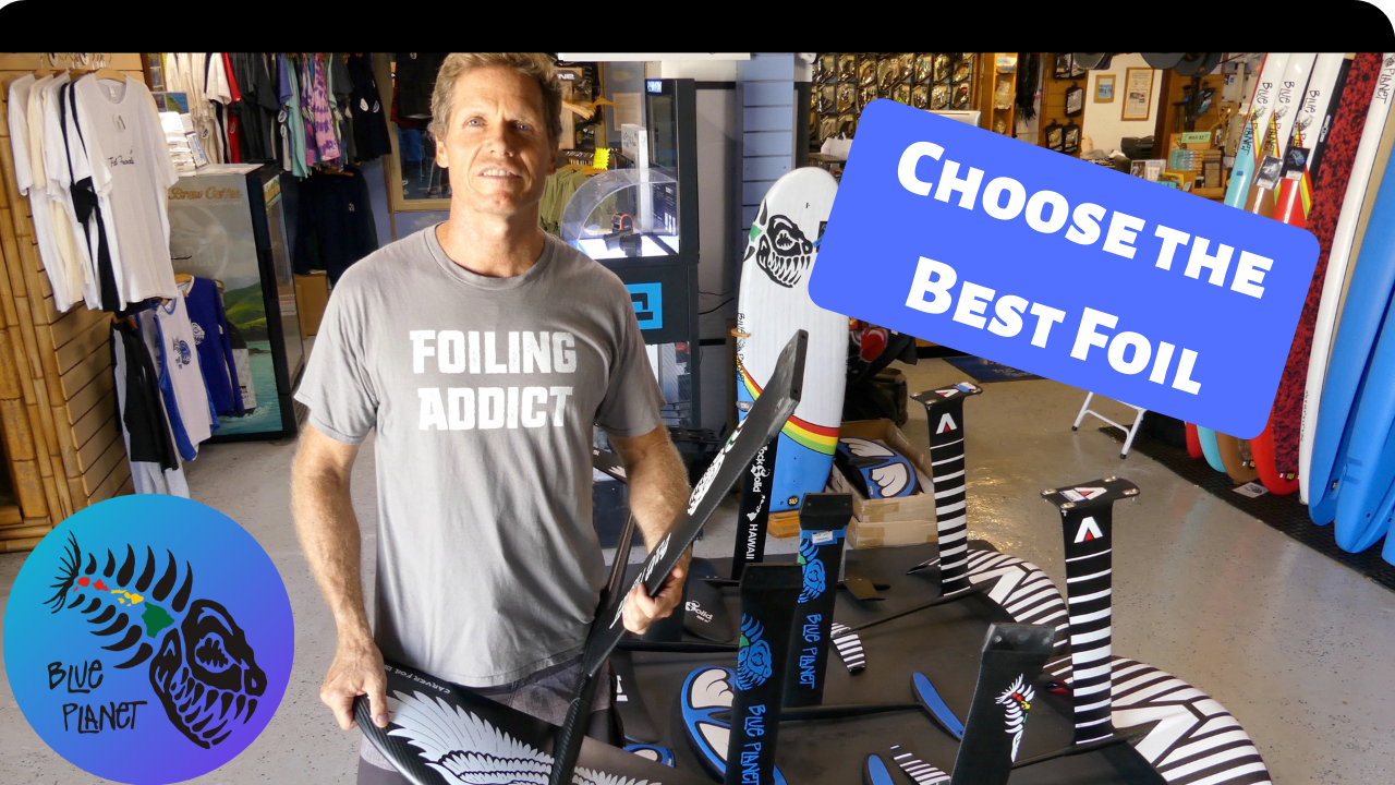 Choosing the best foil: hydrofoil design and construction for foil surfing