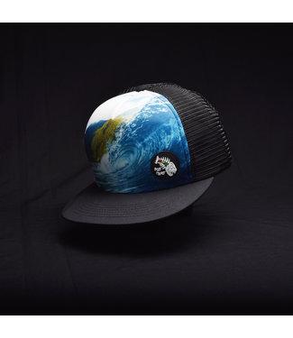 "Blue Planet ""Find Paradise"" Molokai Wave Trucker"