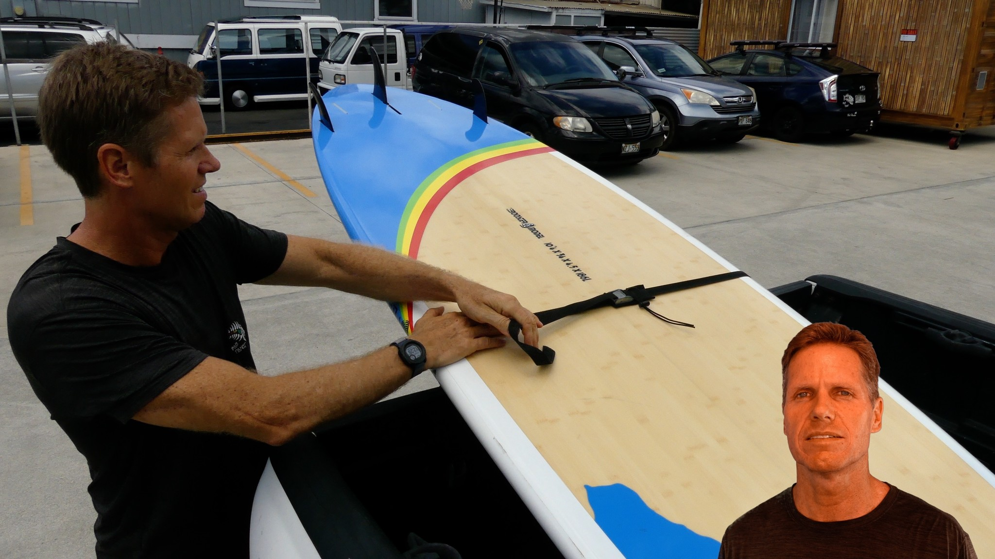 How To Strap Board To Car Blue Planet Surf Shop