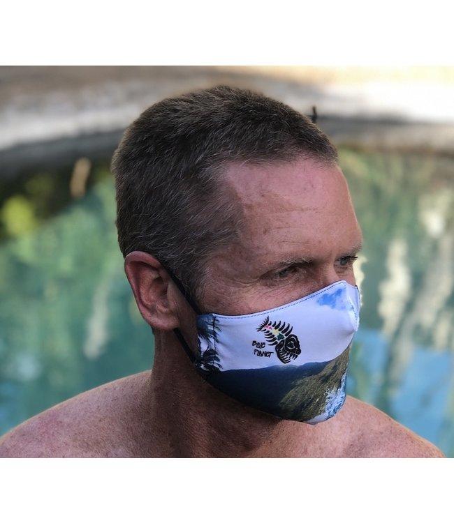 Blue Planet Blue Planet Reusable, Reversible Face Mask- Wave