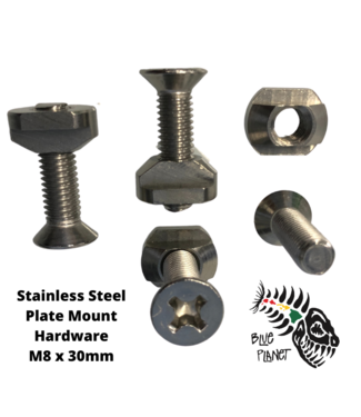 Nuts and Bolts for Foil Plate Mount (4pcs each)