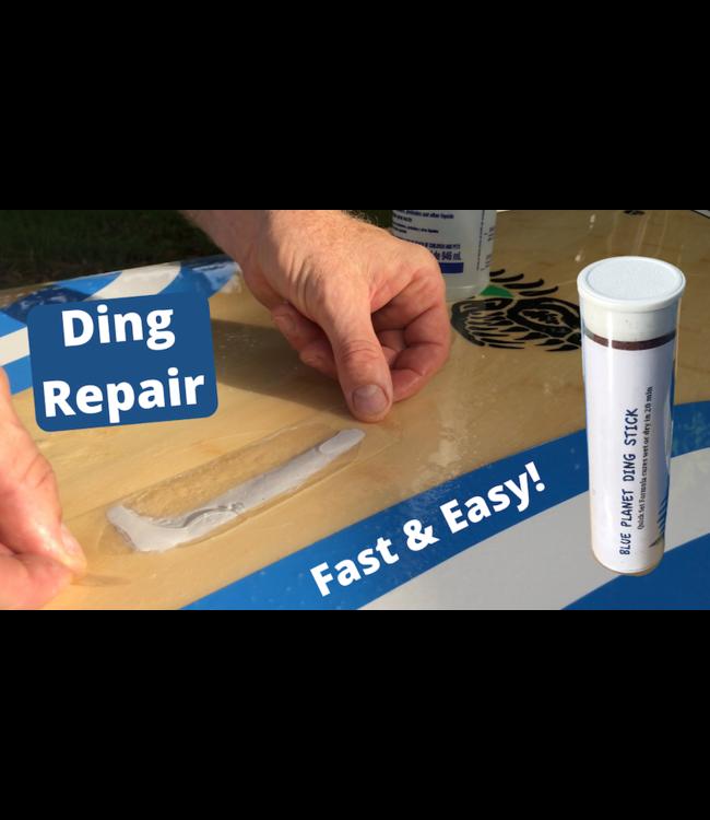 "Blue Planet Board Repair Kit (Ding Stick Epoxy Putty + 6"" Rail Tape)"
