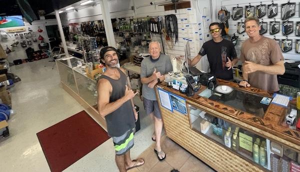 Blue Planet Surf Shop staff