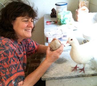Barbara has always been a bird lover!