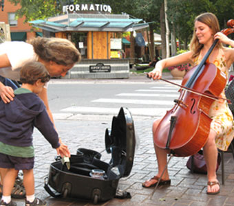 There is always room for cello.
