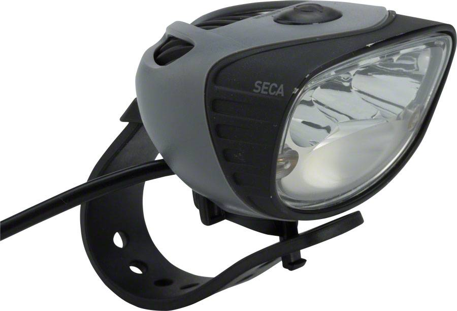 Seca 1800 e-Bike Headlight: Black