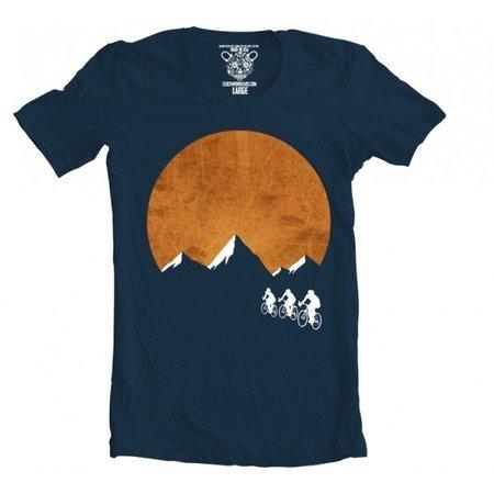 T-shirt Sunset Ride Clockwork Gears