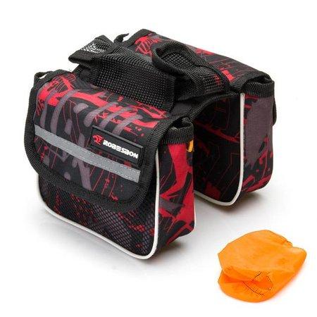 Saddle Bag Red Tiger Robesbon