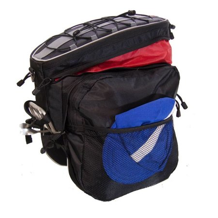 Expanding Rack Top Bag