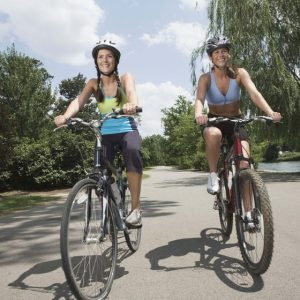 Cycling better than going to the gym?