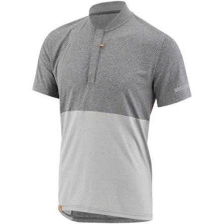 Garneau London Men's Jersey: Gray/Gray 2XL