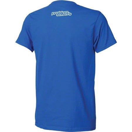 Problem Solvers Square Peg T-Shirt: Blue XL