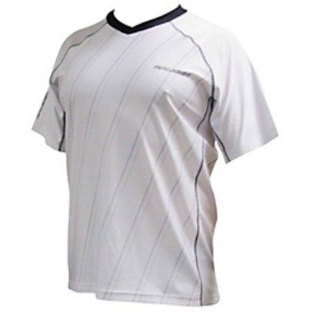 Raleigh Lightweight Jersey Medium White w/Grey Stripes 89-37-091