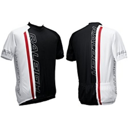 Raleigh Race Jersey XX-Large Black/Red/White 89-37-124