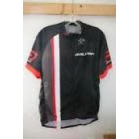 Raleigh Race Jersey Large Black/Red/White