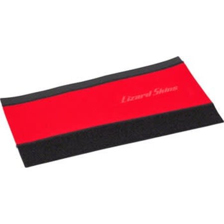 Neoprene Chainstay Protector: LG, Red