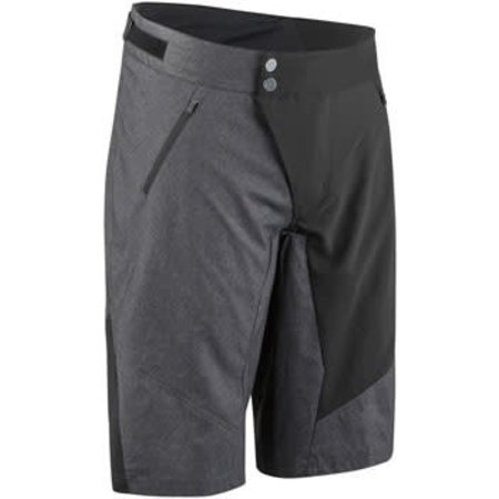 Garneau Dirt Men's Short: Black/Gray 2XL
