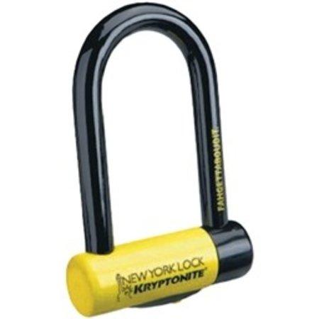 """New York STD U-Lock with Bracket: 4 x 8"""""""
