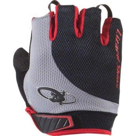 Aramus Elite Gloves: Jet Black/Crimson
