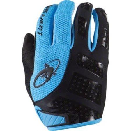 Monitor SL Gloves: Jet Black/Electric Blue