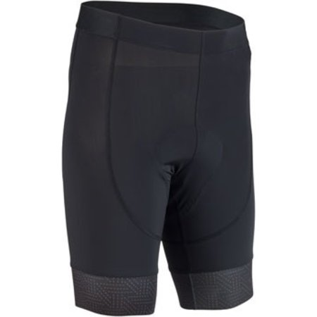 Men's Liner Short: Black/Rust 2XL