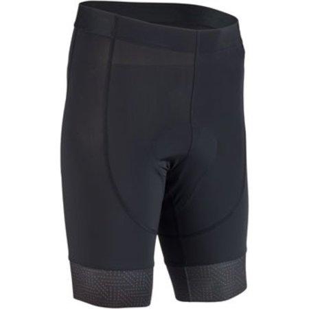 Men's Liner Short: Black/Rust 2XL
