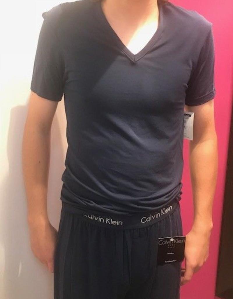 Calvin Klein Chandail à manche courte avec col en V