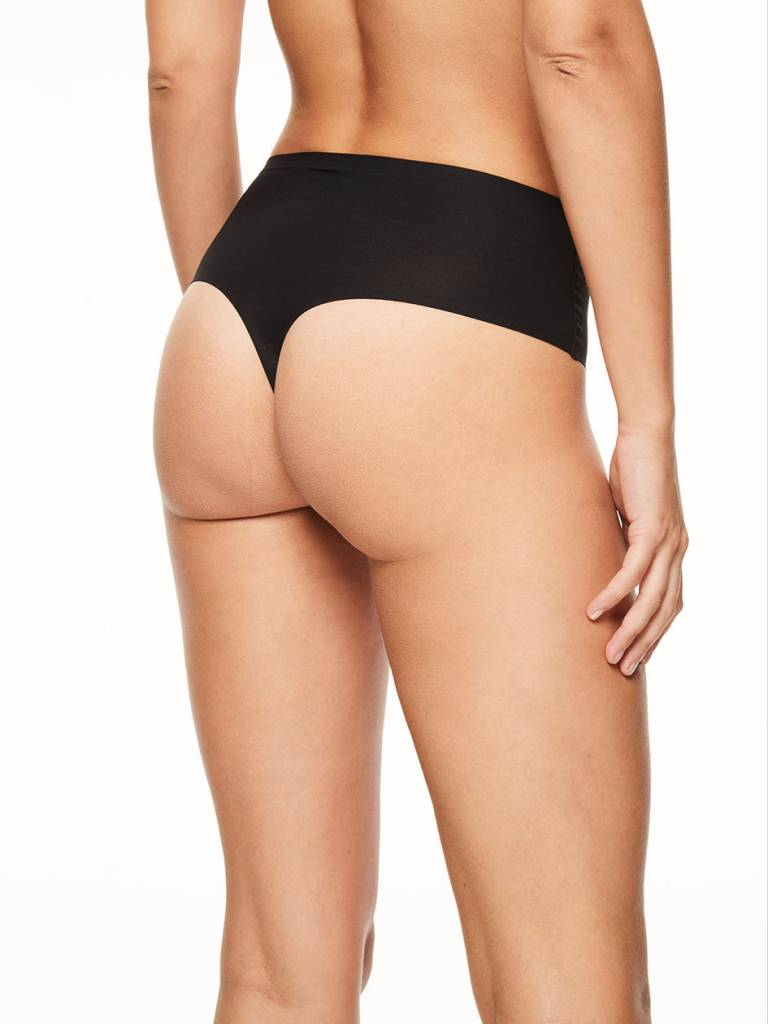High Waist Thong Soft Stretch
