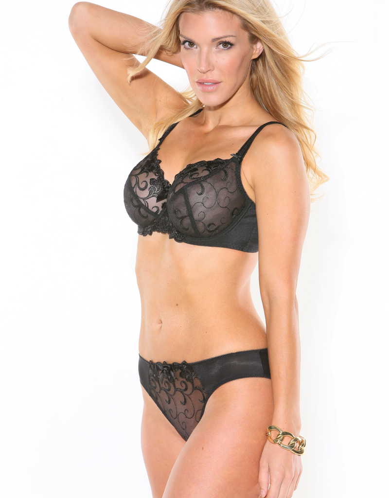 Fit Fully Yours FFY B2536 Joyce See -thru lace