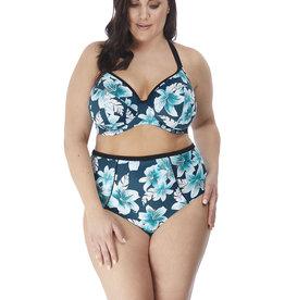 Elomi Plunge Bikini Top 38DD Island Lily