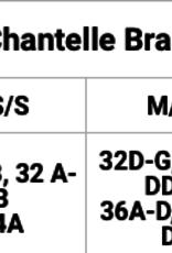Chantelle Padded V-Neck Bra Top XSmall-Small SoftStretch