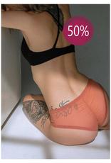 Blush Shorty à bordure de dentelle The Mesh 50%