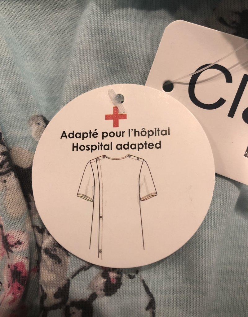 Claudel Robe longue d'hôpital