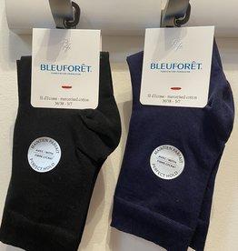 Bleu Forêt Socquettes fil d'écosse