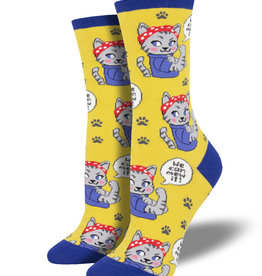 Socksmith Chaussettes pour femmes  We can mew it!