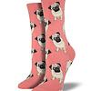Chaussettes pour  Femmes Pugs