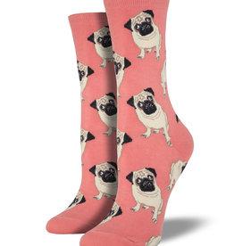 Socksmith Chaussettes pour  Femmes Pugs