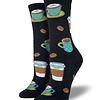 Socks Ladies  Love you a latte