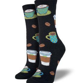 Socksmith Chaussettes pour Femmes  Love you a latte