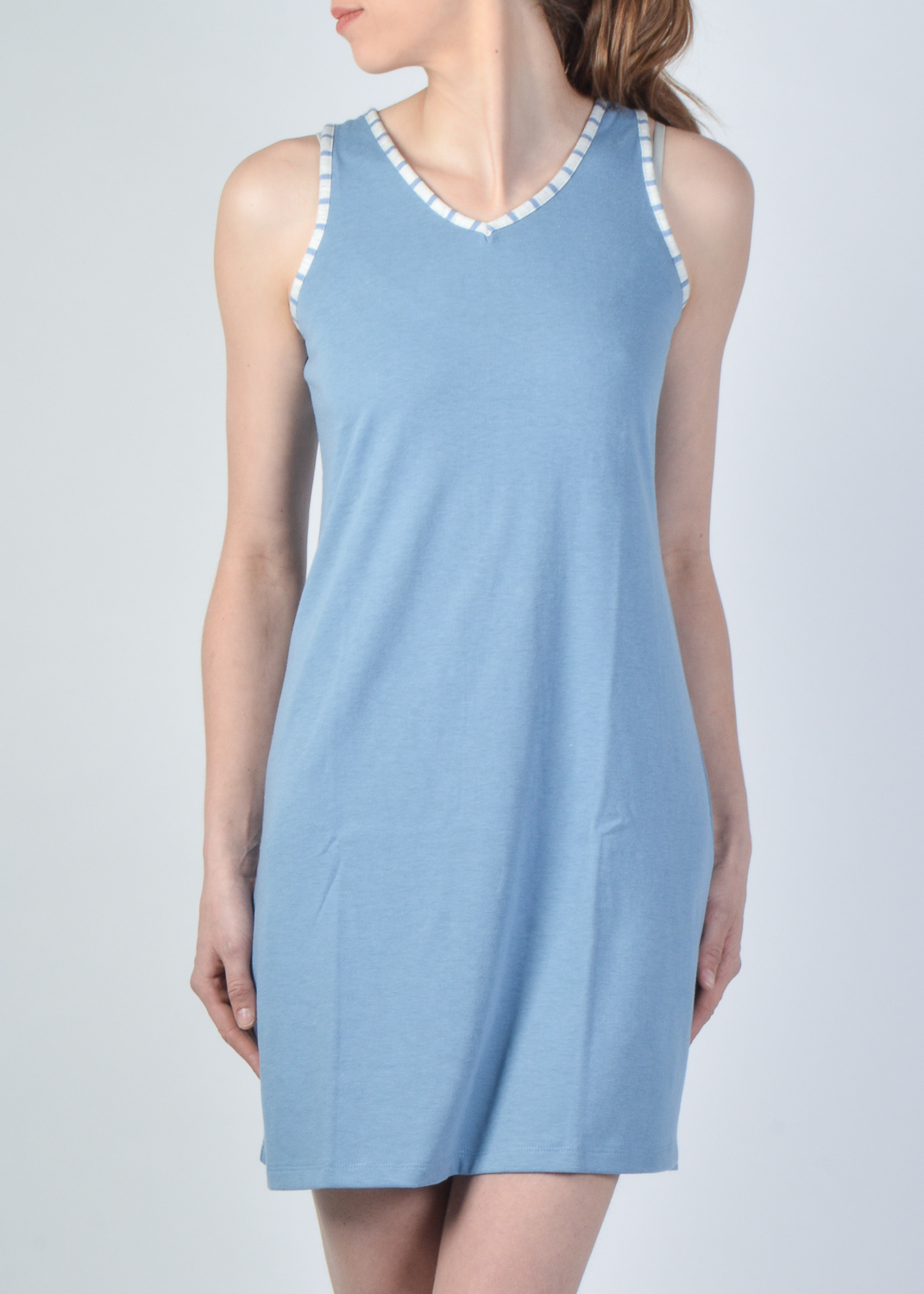 2 Pieces Night Gown Set