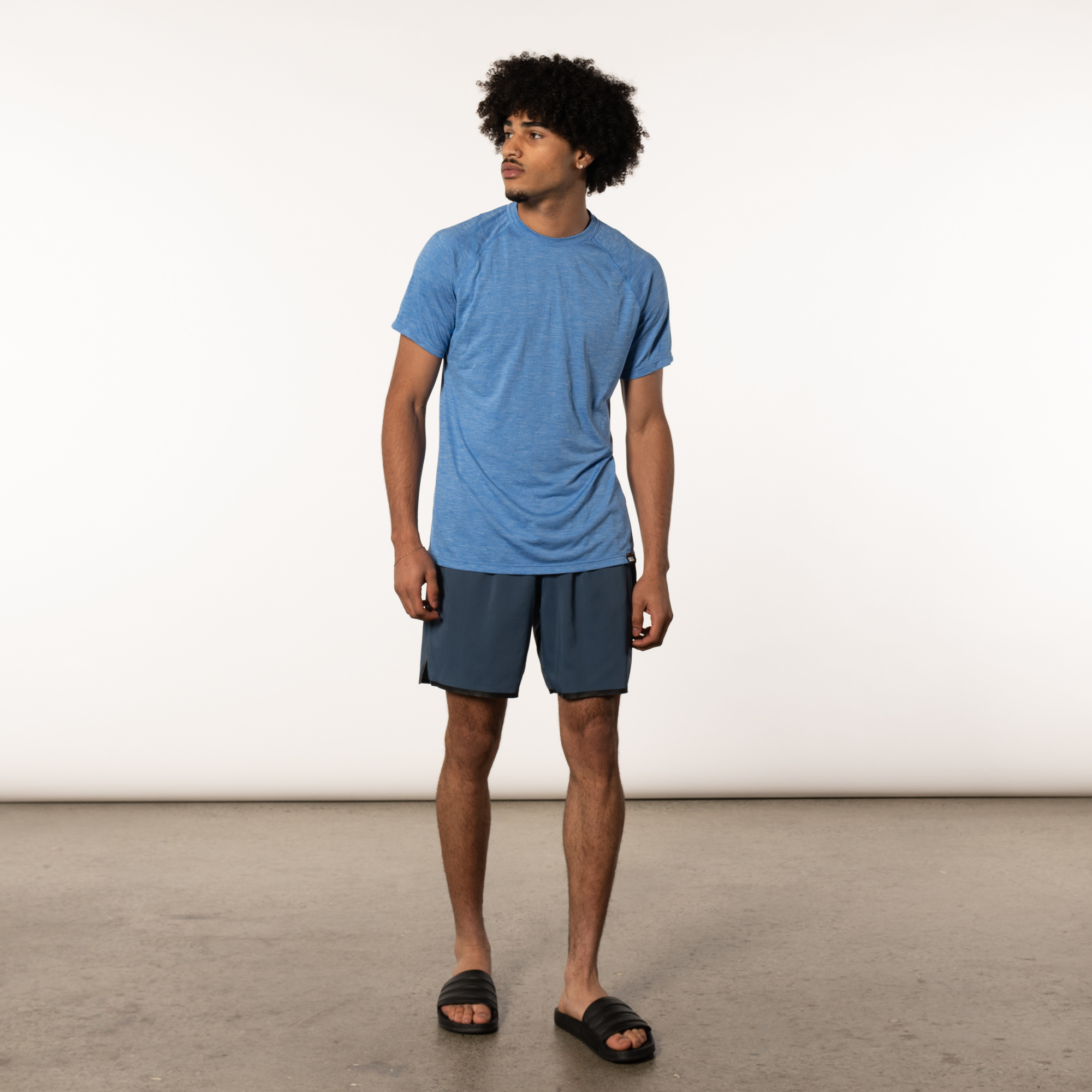 Aerator manches courtes TEE Racer Blue Heather