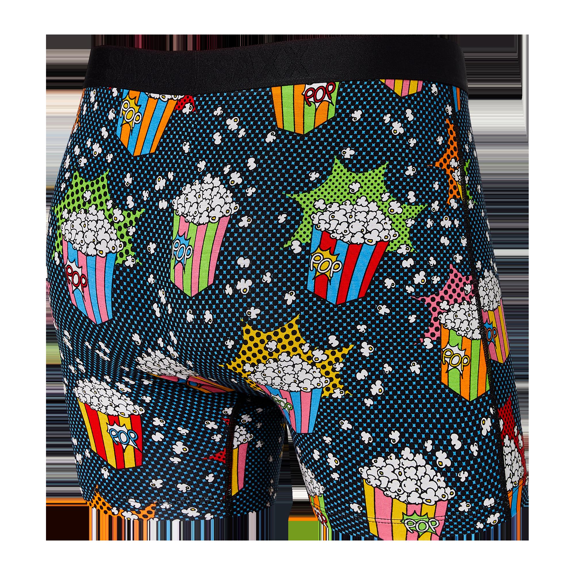 SAXX boxer vibe Multi Pop Art Popcorn