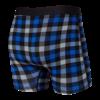 SAXX boxer vibe Blue Flannel Check