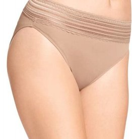 Warners Warners Hi-Cut Brief with lace