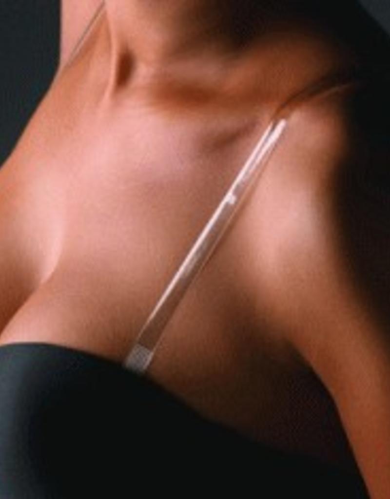 Invisible bra straps